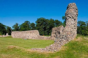 Berkhamsted Place - The ruins of Berkhamsted Castle