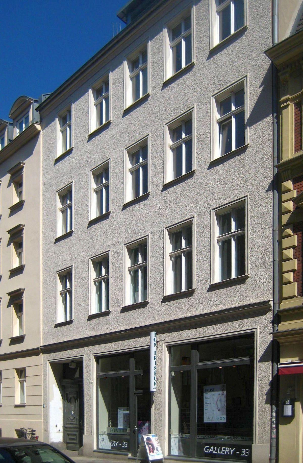 Große Diesdorfer Straße : datei berlin mitte grosse hamburger strasse 33 wikipedia ~ Watch28wear.com Haus und Dekorationen