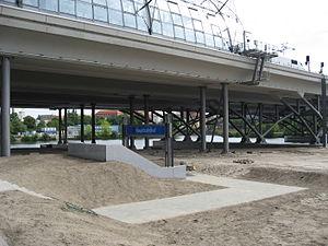 U55 (Berlin U-Bahn) - Berlin Hauptbahnhof U-Bahn station, under construction