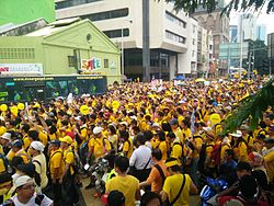 Bersih 4.0 rally at Pasar Seni Day 1.jpg