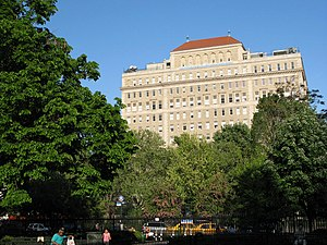 Mount Sinai Beth Israel - Beth Israel Medical Center as seen from Stuyvesant Square