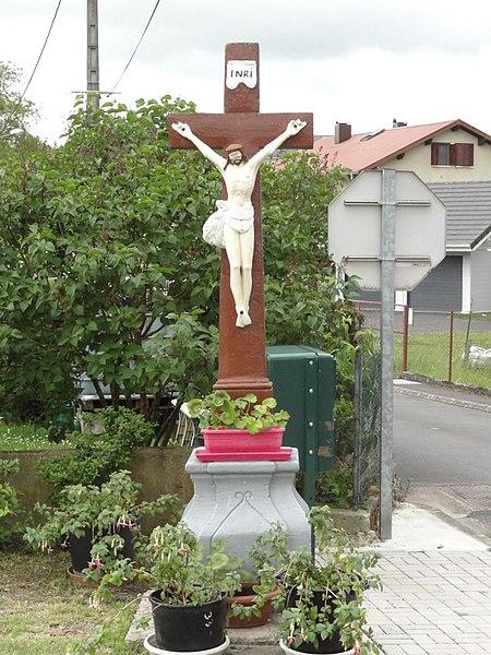 Bettborn (Moselle) croix de chemin