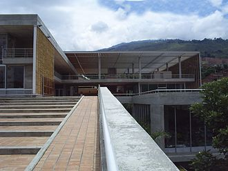Ricardo La Rotta Caballero - La Quintana Library, designed by La Rotta Caballero