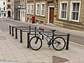 Bike stands, Norwich city centre - geograph.org.uk - 1288262.jpg