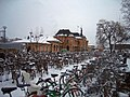 Bikes outside Central train station, Uppsala, Sweden.jpg