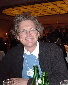 Bill Joy at World Economic Forum (Davos), 2003-01 (cropped).jpg