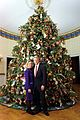 Bill and Hillary Clinton Christmas Portrait 1996.jpg