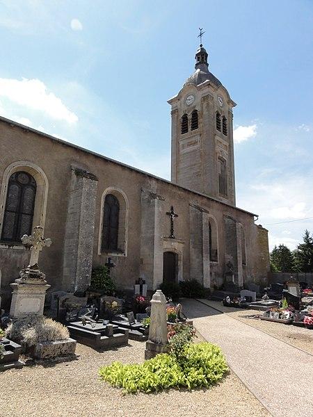 Billy-sous-Mangiennes (Meuse) église