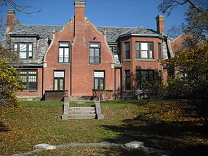 Ramapo College -  The administration building at Ramapo College, built in 1889, was formerly Birch Mansion