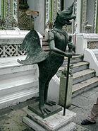 Birdman statue