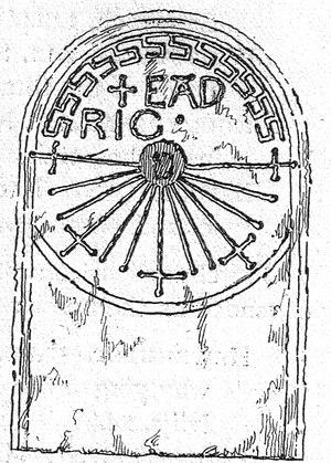 Hour - Image: Bishopstone sundial