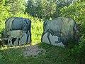 Bison Encloser Riding Mountain National Park Manitoba Canada.JPG