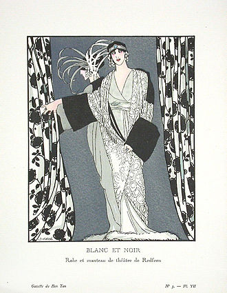 Redfern (couture) - Image: Blancetnoir