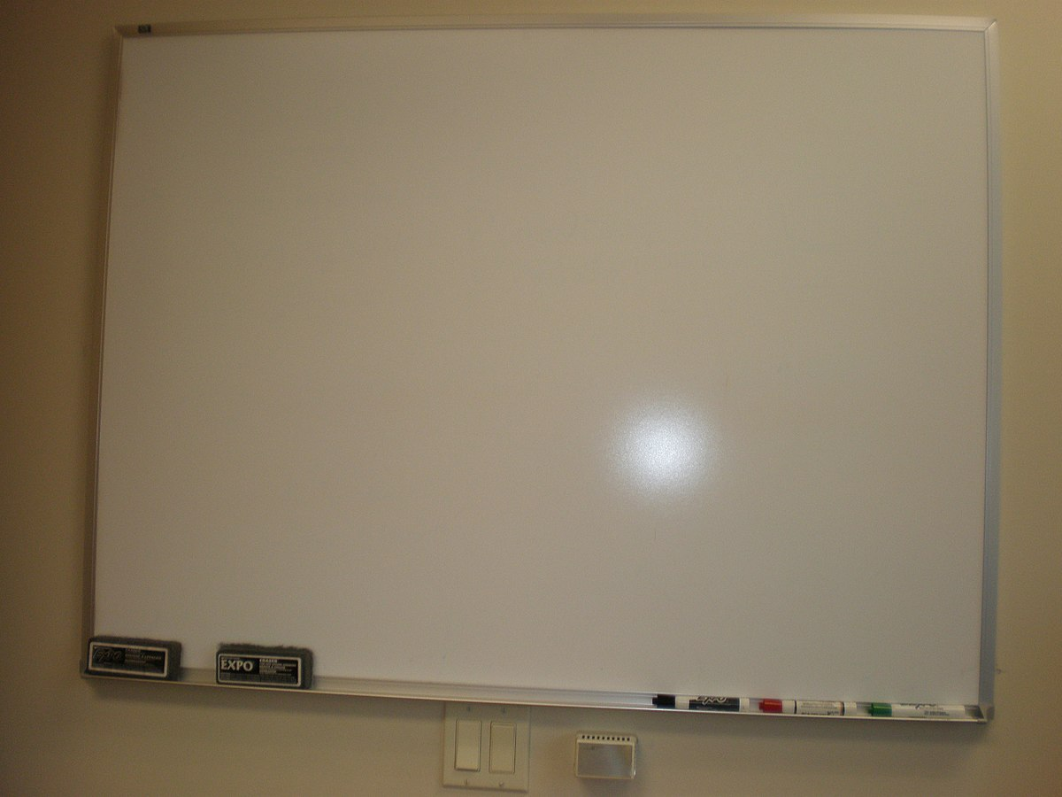 Whiteboard - Wikipedia