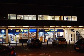 Blockbuster LLC - A Blockbuster store in Moor Allerton, Leeds