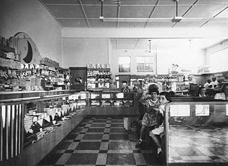 Civic, Australian Capital Territory - Blue Moon Cafe in 1953