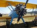 Blue Boeing-Stearman PT-18 front.jpg