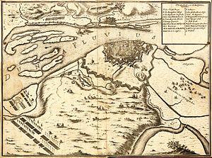 Siege of Riga (1700) - Image: Bm 04004abm