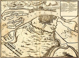 Siege of Riga (1700) - Saxony blockade of Riga