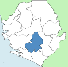 Bo District Sierra Leone locator.png