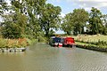 Boats moored in feeder arm, Oxford Canal, Clifton - geograph.org.uk - 1414820.jpg
