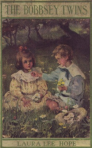 Bobbsey Twins - Cover of The Bobbsey Twins, circa 1908