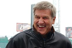 Bobby Orr at the 2010 NHL Winter Classic, January 1, 2010