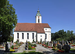 Bodnegg Pfarrkirche außen