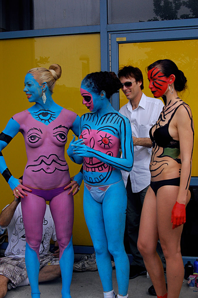 Body Painting Male Sydney