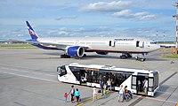 VQ-BUB - B77W - Aeroflot