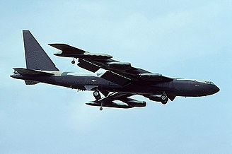 2d Bombardment Squadron - Boeing B-52D Stratofortress at March AFB