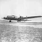 Boeing Fortress Mk I of No. 90 Squadron RAF based at West Raynham, Norfolk, 20 June 1941. CH2873.jpg