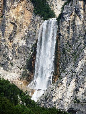 Žaga, Bovec - Boka Falls