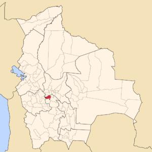 Alonso de Ibáñez Province