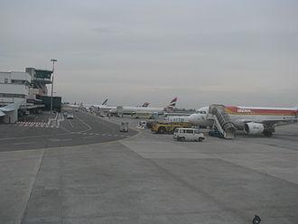 Bologna Guglielmo Marconi Airport - Main apron