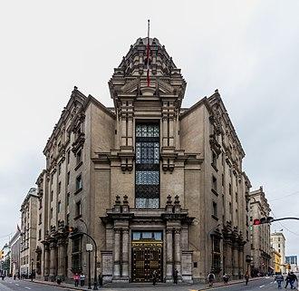 Lima Stock Exchange - The Bolsa de Valores de Lima