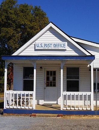 Bon Air, Alabama - The post office in Bon Air (ZIP code: 35032)