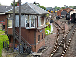 Boness & Kinneil Railway Signal Box (7748613012).jpg