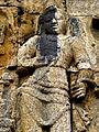 Borobudur - Lalitavistara - 014 E, The Bodhisattva inside Queen Maya's Womb (detail 3) (11247766465).jpg