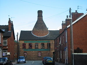 Heron Cross - A bottle oven in Chilton Street, Heron Cross