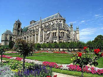 La Catedral de Saint-Étienne de Bourges.