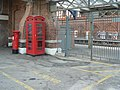 Bournemouth, postbox No. BH8 10, station approach - geograph.org.uk - 863870.jpg