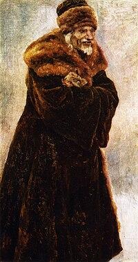 Boyaryna Morozova by V.Surikov - sketch 07 (Museum of Belarus).jpg