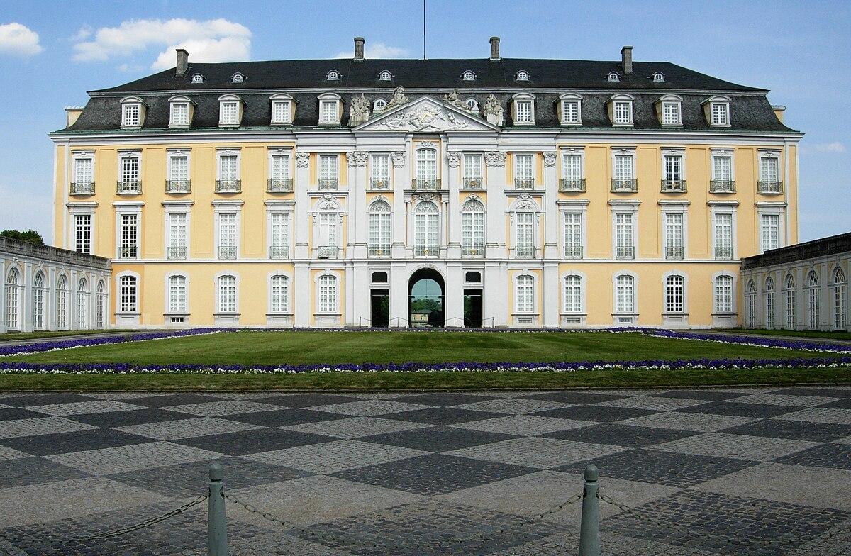 Palacios de Augustusburg y Falkenlust - Wikipedia, la enciclopedia libre