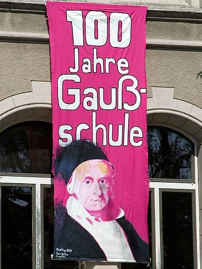 Braunschweig Gaussschule Banner 100 (2009).JPG
