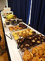 Breakfast at Wikimania 2012 P1160457.JPG