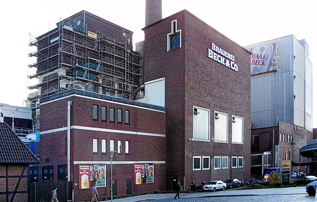 Becks Brewery in Bremen, Germany