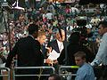 Brian Williams and Tom Brokaw 2008 DNC (2812254973).jpg