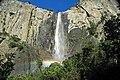 Bridalveil Falls (Yosemite Valley, Sierra Nevada Mountains, California, USA) 8 (19848531058).jpg