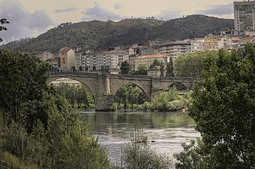 Bridge, Ourense (Spain), Minho River.jpg